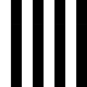 Adesivo em rolo Listras I Branco e Preto