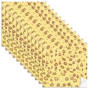 Adesivo para Azulejo Bosque Encantado Amarelo