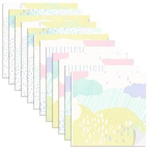 Adesivo para Azulejo Chuva Rosa e Lilás