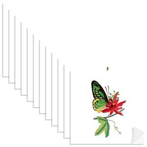 Adesivo para Azulejo Colagens Branco e Verde
