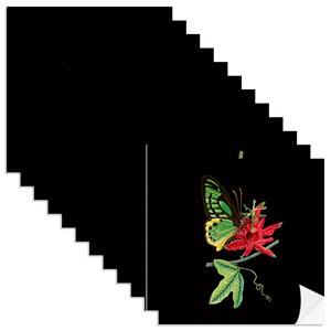 Adesivo para Azulejo Colagens Preto e Verde