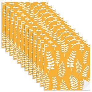 Adesivo para Azulejo Floresta Colorida Amarelo I