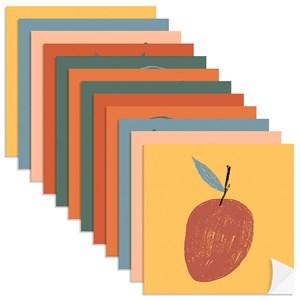 Adesivo para Azulejo Frutas Colorido