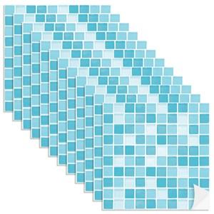 Adesivo para Azulejo Pastilhas Azul Claro