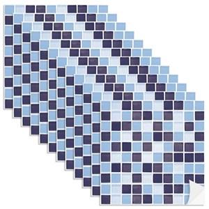 Adesivo para Azulejo Pastilhas Azul Marinho