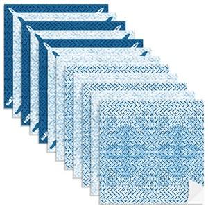 Adesivo para Azulejo Rustic Setas Azul I