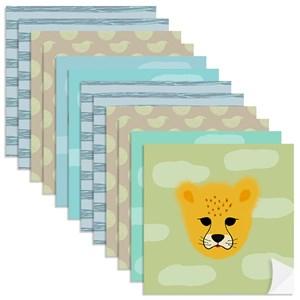 Adesivo para Azulejo Selva de Mogli Colorido