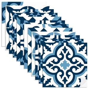 Adesivo para Azulejo Tradicional Azul