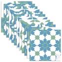 Adesivo para Azulejo Tradicional Azul e Branco