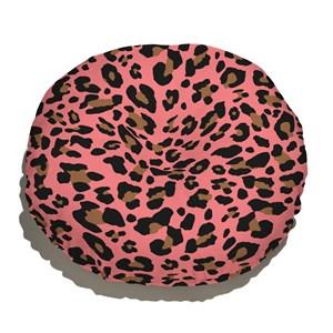 Almofada de Chão Amor Selvagem Rosa e Preto