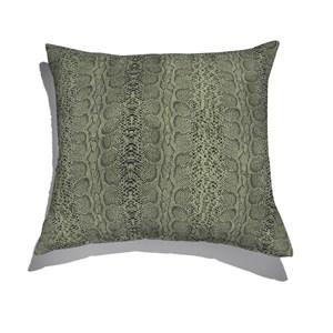 Almofada de Chão Animal Print Verde e Preto