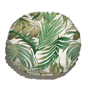 Almofada de Chão Costa Rica Verde e Branco I