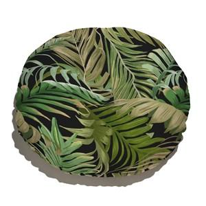 Almofada de Chão Costa Rica Verde e Preto I