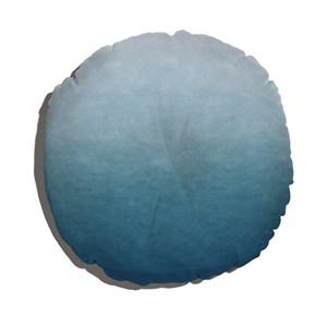 Almofada de Chão Degradê Trinchado Azul Marinho