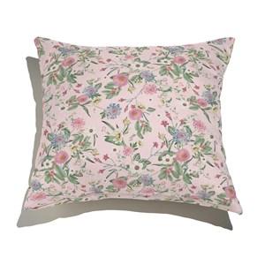 Almofada de Chão Floral Cool Rosa IV