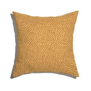Almofada de Chão Granja da Manu Amarelo e Marrom