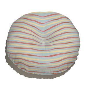 Almofada de Chão Granja da Manu Laranja e Azul I