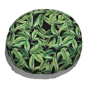 Almofada de Chão Paisagem tropical Verde e Preto IV