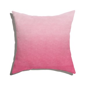 Almofada de Chão Quadrada Degradê Trinchado Rosa