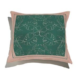 Almofada de Chão Quadrado Artline I Rosa