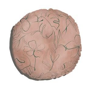 Almofada de Chão Redondo Artline I Rosa