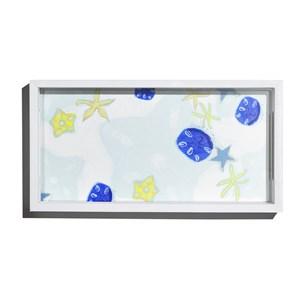Bandeja Estrelas do Mar Azul e Verde