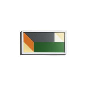Bandeja Origami Preto e Verde