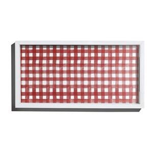 Bandeja Piquenique Vermelho e Branco