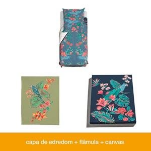 Caixa Conte comigo Flor de Arara 01