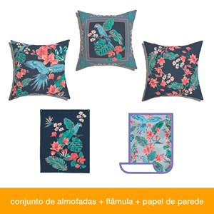 Caixa Perfeita sem defeitos! Flor de Arara 01