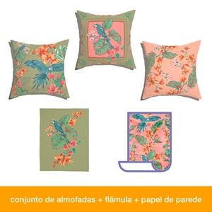 Caixa Perfeita sem defeitos! Flor de Arara