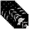 Caixa Tá na Mesa Flores Pretas