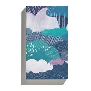 Canvas Chuva Azul Marinho e Azul