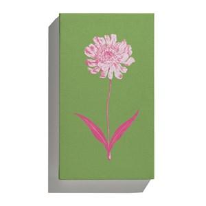 Canvas Floral Cool Verde e Rosa