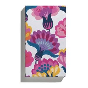 Canvas Floresta Colorida Rosa e Lilás I