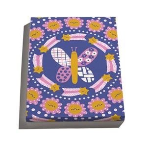 Canvas Flower Power I Amarelo e Rosa