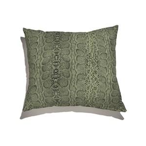 Capa de Almofada Animal Print Verde e Preto