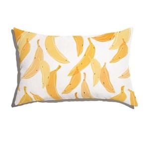 Capa de Almofada Banana Amarelo