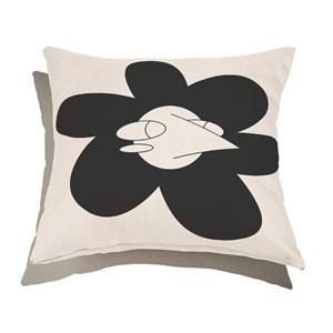 Capa de Almofada Funny Dreams I Branco e Preto