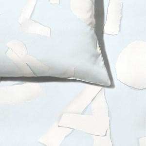 Capa de Edredom ABC Azul e Branco