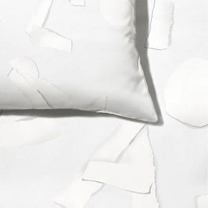 Capa de Edredom ABC Cinza e Branco