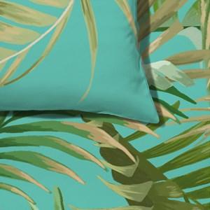 Capa de Edredom Costa Rica Azul e Verde