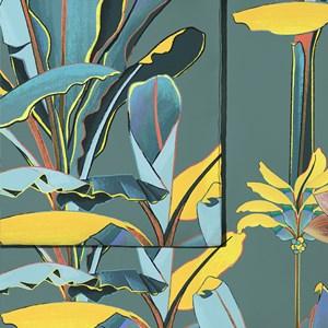 Capa de Edredom Folhagens Sonhos I Marrom e Amarelo