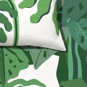 Capa de Edredom Mata Verde