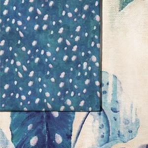 Capa de Edredom Na mata cheia Bege e Azul