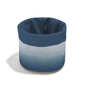 Cesto Degradê Trinchado Azul Marinho e Azul