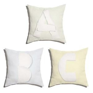 Conjunto de Almofadas ABC