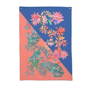 Flâmula Tropicana Arranjo Azul e Rosa