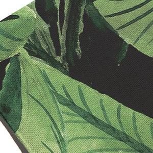 Jogo Americano Paisagem tropical Verde e Preto I