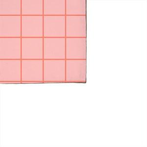 Pano de Prato Quadriculado Moderninho Rosa e Vermelho